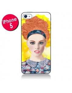 Coque Lady Posh pour iPhone 5 et 5S - AlekSia