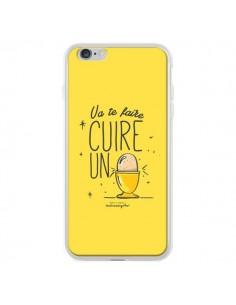 Coque Va te faire cuir un oeuf jaune pour iPhone 6 Plus - Leellouebrigitte