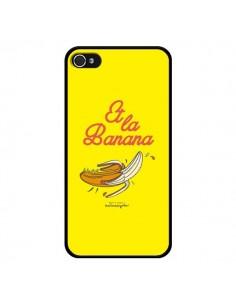 Coque Et la banana banane pour iPhone 4 et 4S - Leellouebrigitte
