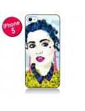 Coque Brunette pour iPhone 5