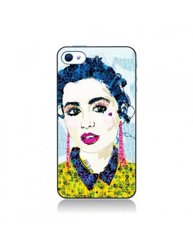 Coque Brunette pour iPhone 4 et 4S