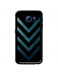 Coque Blue Black Arrow Fleche pour Samsung Galaxy S6 - LouJah