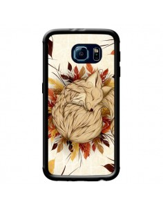 Coque Night Fall Renard Automne pour Samsung Galaxy S6 - LouJah