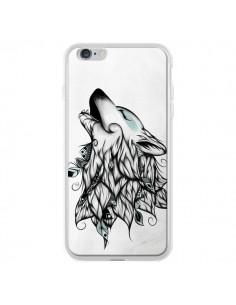 Coque The Wolf Loup Noir pour iPhone 6 Plus - LouJah