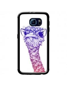 Coque Ostrich Colors Autruche Couleur pour Samsung Galaxy S6 - LouJah