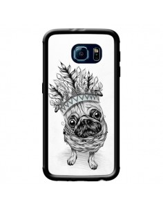 Coque Indian Dog Chien Indien Chef Couronne pour Samsung Galaxy S6 - LouJah