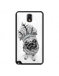 Coque Indian Dog Chien Indien Chef Couronne pour Samsung Galaxy Note III - LouJah