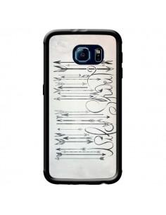 Coque Barcode Wild Spirit Code Barre Flèche pour Samsung Galaxy S6 - LouJah