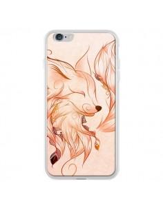Coque Fox Renard Rouge pour iPhone 6 Plus - LouJah