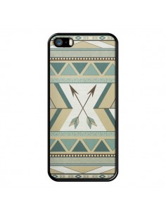 Coque Aztec Pattern Arrows Fleche Azteque Tribal pour iPhone 5 et 5S - LouJah
