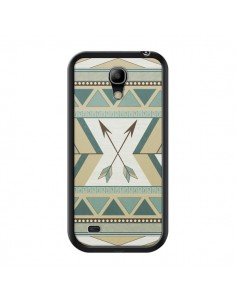 Coque Aztec Pattern Arrows Fleche Azteque Tribal pour Samsung Galaxy S4 Mini - LouJah
