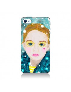 Coque Little Girl pour iPhone 4 et 4S - AlekSia