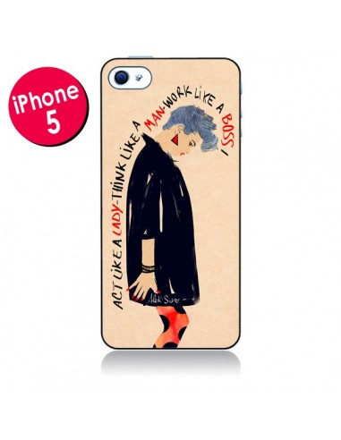 Coque Act Like A Lady pour iPhone 5