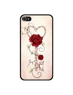 Coque Key of Love Clef Amour pour iPhone 4 et 4S - LouJah