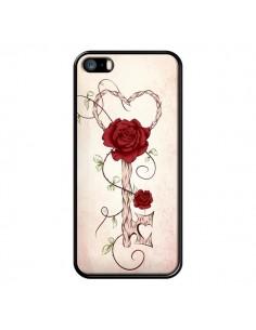 Coque Key of Love Clef Amour pour iPhone 5 et 5S - LouJah