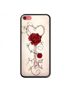 Coque Key of Love Clef Amour pour iPhone 5C - LouJah