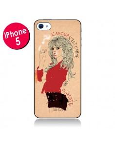 Coque Amour pour iPhone 5/5S et SE - AlekSia