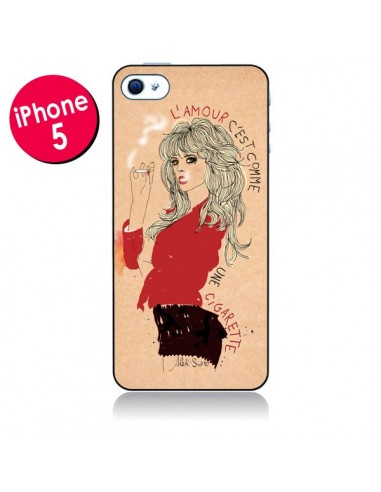 Coque Amour pour iPhone 5