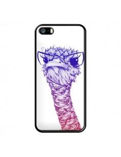 Coque Ostrich Colors Autruche Couleur pour iPhone 5 et 5S - LouJah