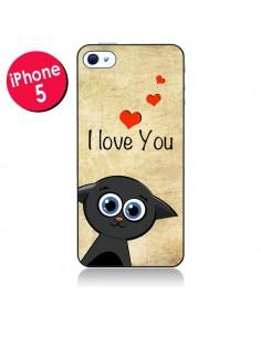 Coque Cute Cat pour iPhone 5/5S et SE - Nico
