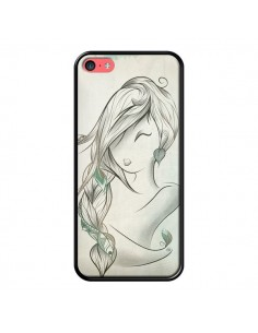 Coque Downwind Fille Vent Wind pour iPhone 5C - LouJah
