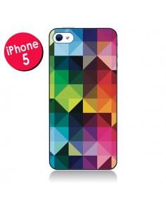 Coque Polygone pour iPhone 5/5S et SE - Nico
