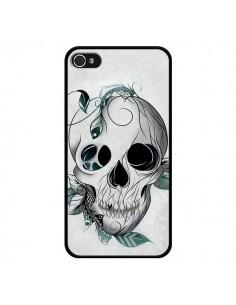 Coque Skull Boho Tête de Mort pour iPhone 4 et 4S - LouJah