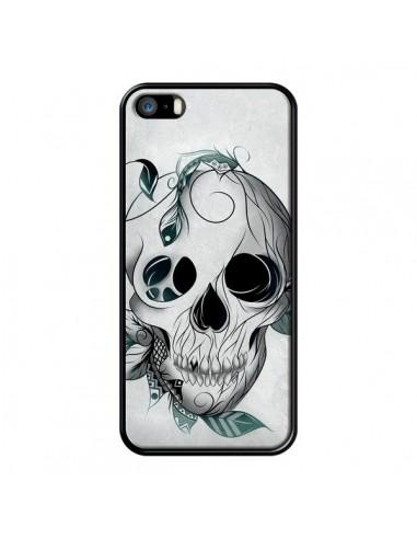 Coque Skull Boho Tête de Mort pour iPhone 5 et 5S - LouJah