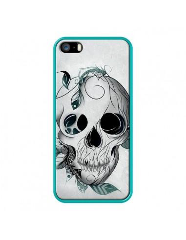 Coque iPhone 5/5S et SE Skull Boho Tête de Mort - LouJah