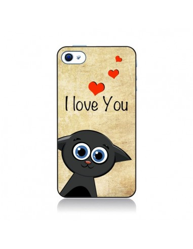 Coque Cute Cat pour iPhone 4 et 4S