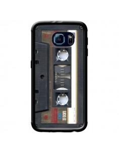 Coque Cassette Gold K7 pour Samsung Galaxy S6 Edge - Maximilian San