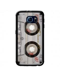 Coque Cassette Transparente K7 pour Samsung Galaxy S6 Edge - Maximilian San