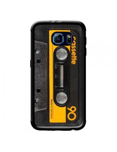 Coque Yellow Cassette K7 pour Samsung Galaxy S6 Edge - Maximilian San
