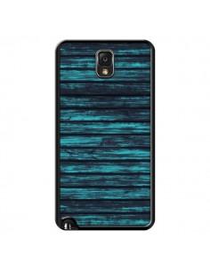 Coque Blue Moon Wood Bois pour Samsung Galaxy Note III - Maximilian San