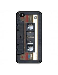 Coque Cassette Gold K7 pour iPhone 4 et 4S - Maximilian San