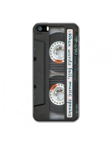 coque iphone 5 cassette