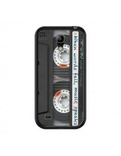 Coque Cassette Words K7 pour Samsung Galaxy S4 Mini - Maximilian San