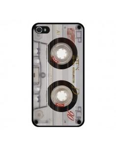 Coque Cassette Transparente K7 pour iPhone 4 et 4S - Maximilian San
