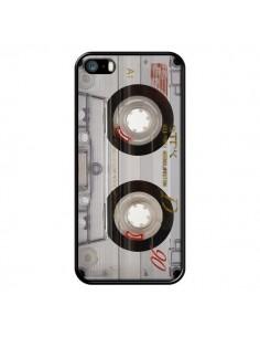 Coque Cassette Transparente K7 pour iPhone 5 et 5S - Maximilian San
