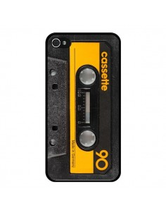 Coque Yellow Cassette K7 pour iPhone 4 et 4S - Maximilian San