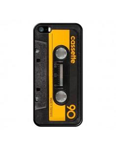 Coque Yellow Cassette K7 pour iPhone 5 et 5S - Maximilian San