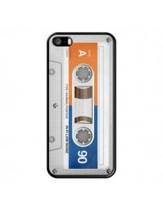 Coque White Cassette K7 pour iPhone 5 et 5S - Maximilian San