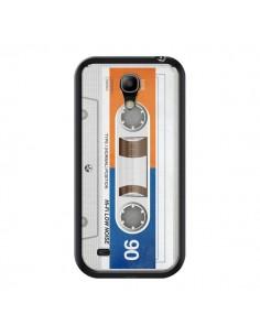 Coque White Cassette K7 pour Samsung Galaxy S4 Mini - Maximilian San