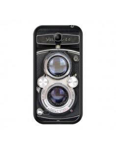 Coque Vintage Camera Yashica 44 Appareil Photo pour Samsung Galaxy S4 Mini - Maximilian San