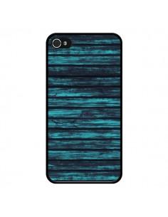 Coque Blue Moon Wood Bois pour iPhone 4 et 4S - Maximilian San