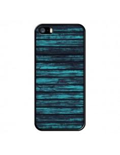 Coque Blue Moon Wood Bois pour iPhone 5 et 5S - Maximilian San