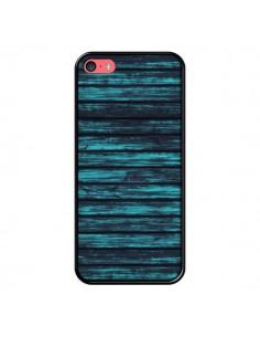 Coque Blue Moon Wood Bois pour iPhone 5C - Maximilian San