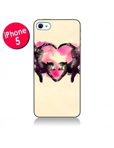 Coque Cats love to sleep pour iPhone 5