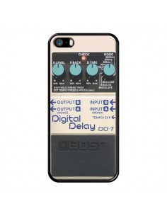 Coque Digital Delay Radio Son pour iPhone 5 et 5S - Maximilian San