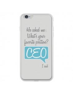 Coque What's your favorite position CEO I said, bleu pour iPhone 6 Plus et 6S Plus - Shop Gasoline